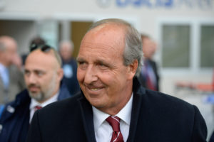 UDINE, ITALY - APRIL 30: head coach of Torino FC Giampiero Ventura looks on during the Serie A match between Udinese Calcio and Torino FC at Dacia Arena on April 30, 2016 in Udine, Italy. (Photo by Dino Panato/Getty Images)