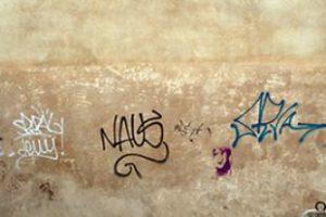 vandalismo sui muri