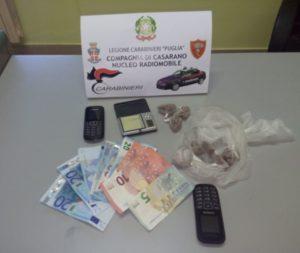 arresto droga radiomobile casarano