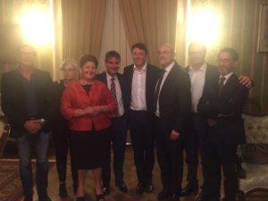 Incontro con Renzi prefettura 9 settembre 2016