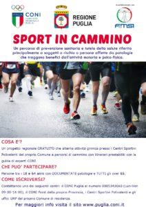 Locandina Sport in cammino