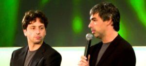 PAGE e BRIN fondatori di google