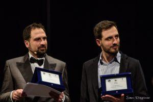 Francesco e Matteo Spedicato nella serata concorso Una voce per TITO