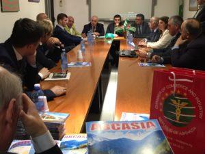 visita delegazione Abcasia