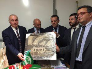 visita delegazione Abcasia in CIA