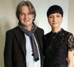 Lo scienziato Carlo Ventura con la scrittrice Giovanna Politi