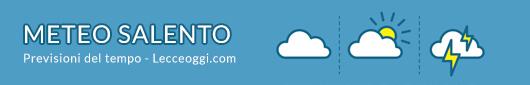 previsioni meteo salento oggi